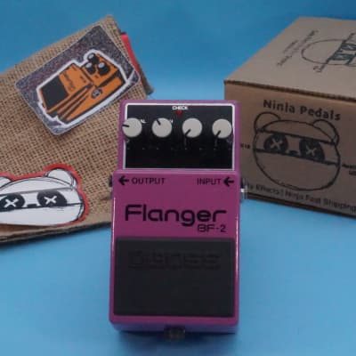 Boss BF-2 Flanger   1991 Green Label (ACA)   Fast Shipping!