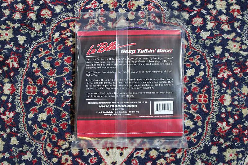 la bella 760n b deep talkin 39 bass nylon tapewound long reverb. Black Bedroom Furniture Sets. Home Design Ideas