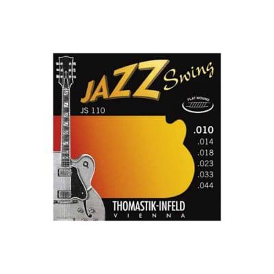 Thomastik JS110 Jazz Swing Flatwound Electric Strings 10-44