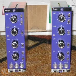 Purple Audio ODD 500 Series EQ Pair