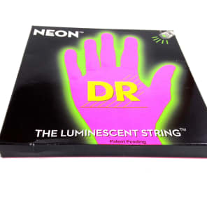 DR NPB-45 HiDef Neon Coated Medium Bass Strings 45-105