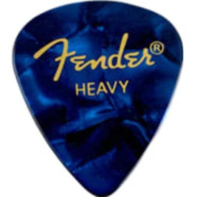 Fender Blue Moto Heavy Picks, 12pk for sale