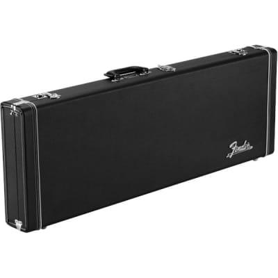 Fender Classic Series Wood Case, Strat/Tele, Black for sale