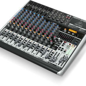 BEHRINGER XENYX QX1832USB 18-Input 3/2-Bus Mixer USB/Audio Interface with Multi-FX + Warranty