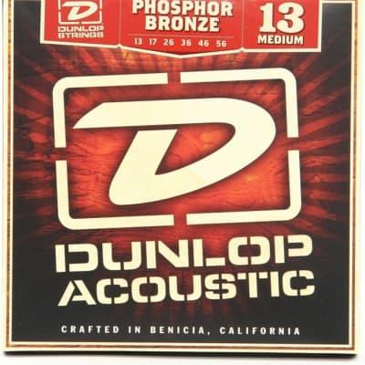 Dunlop DAP1356 Phosphor Bronze Acoustic Strings Medium
