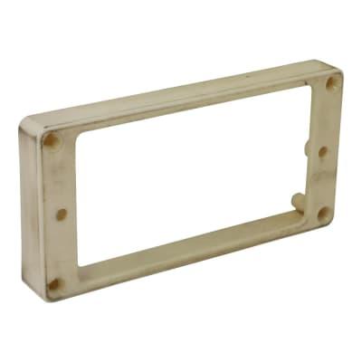 HOSCO H-MR-RRLI bridge humbucker frame, cream, aged for sale