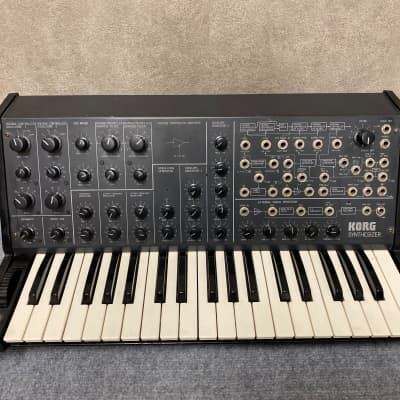 Korg MS-20 Monophonic Analog Synth Excellent condition, serviced and calibrated.