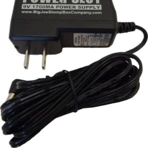 NEW! Big Joe Stomp Box Company PS-202 9v 1700mA Daisy Chain Power Adapter Black