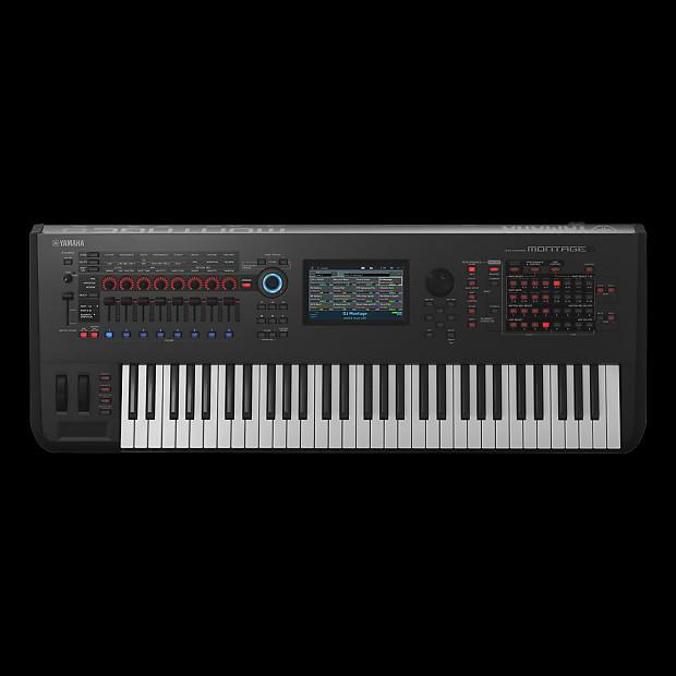 Yamaha montage 6 61 key flagship music synthesizer for Yamaha refurbished warranty