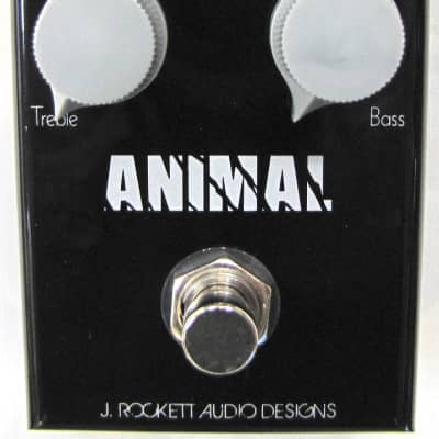 Used J. Rockett Animal Tour Series Overdrive Guitar Effects Pedal!