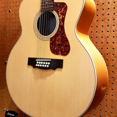 Guild F-2512E Maple Acoustic 12-string Guitar Natural
