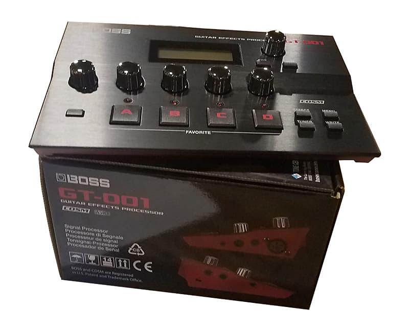 boss gt 001 desktop guitar effects processor used reverb. Black Bedroom Furniture Sets. Home Design Ideas