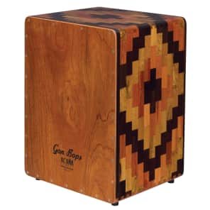 Gon Bops AACJSE Alex Acuna Signature Special Edition Peruvian Cajon w/ Gig Bag