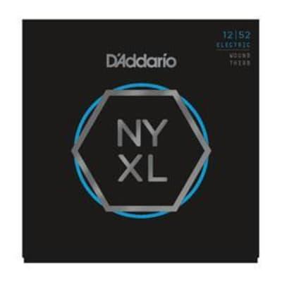 D'Addario NYXL1252W Nickel Wound, Light Wound 3rd, 12-52