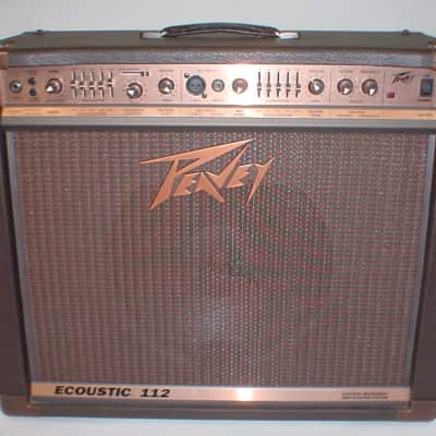 Peavey Ecoustic 112 Acoustic Combo Guitar Amplifer Amp Previously Owned