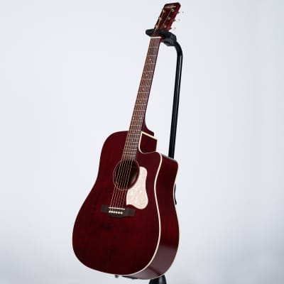 Art & Lutherie Americana Dreadnought Cutaway Acoustic Guitar with Godin Q1T - Tennessee Red for sale