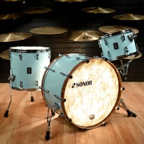 "Sonor SQ1 Series 3-Piece Birch Shell Pack with 24"" Bass Drum"