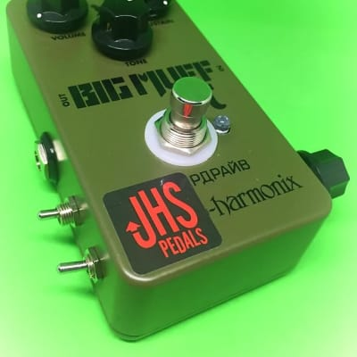 JHS Green Russian Big Muff Reissue with Moscow Mod***NOS