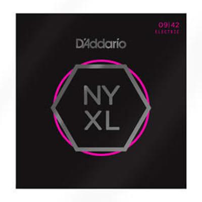 D'Addario NYXL0942 Super Light Electric Guitar Strings, .009-.042