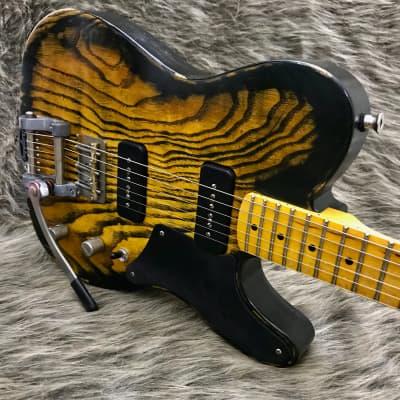 Schmidt Co. Guitars Gentoo  - Tiger Burst (P90s, Bigsby, Callaham, TMG, MJT, Nash) Ready to Ship! for sale