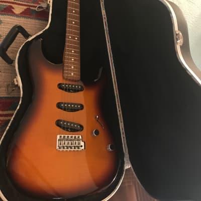 Fender FMT Stratocaster  2005 Flamed Maple Top Sunburst for sale
