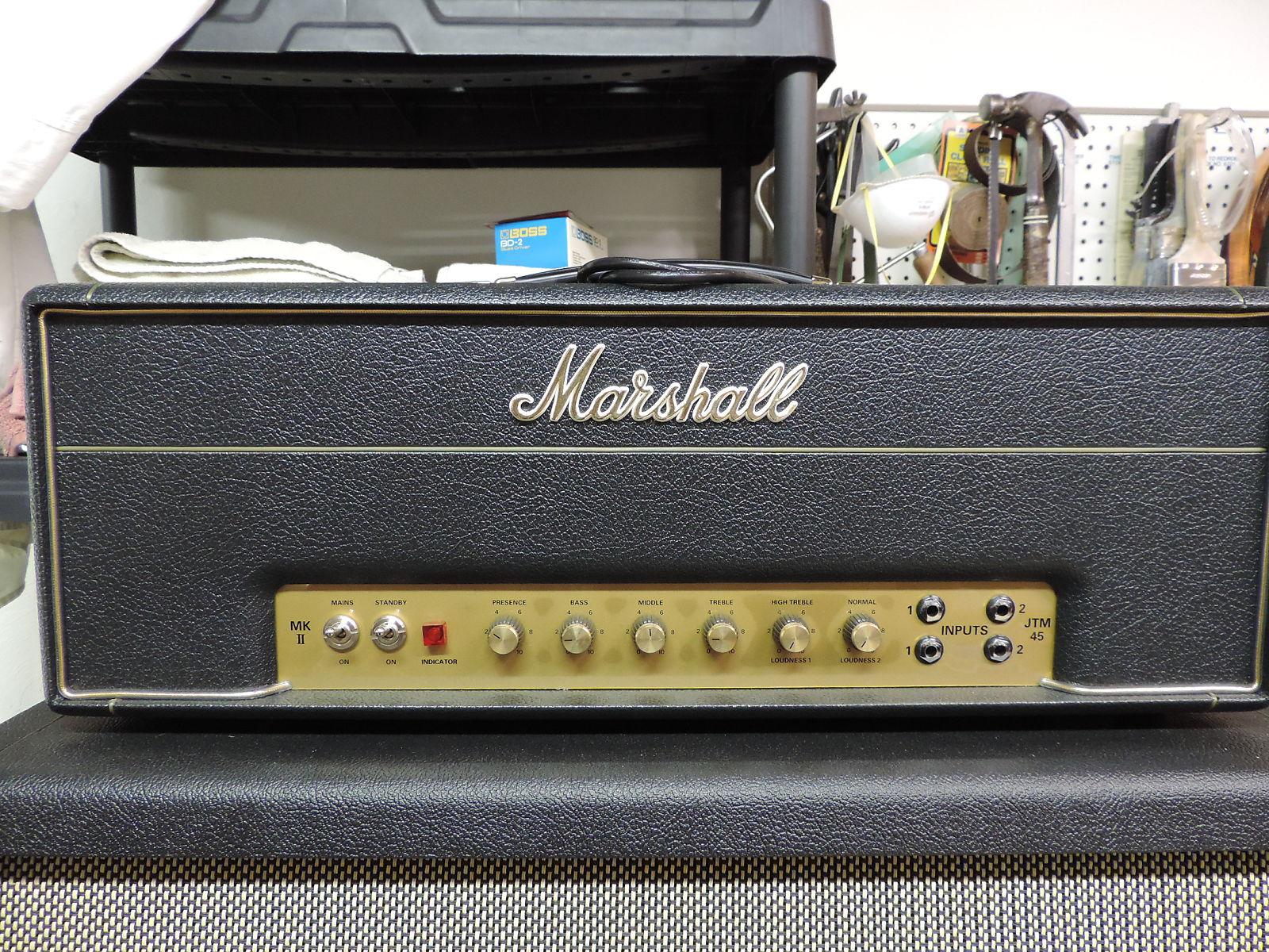 Marshall Jtm45 2245 30w Plexi Tube Guitar Head Reverb