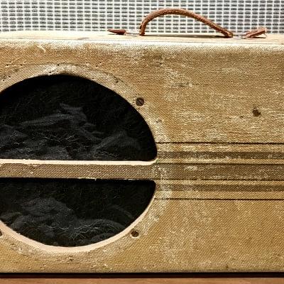 National Dobro Suitcase amp 1939 2-Tone Alligator Tweed