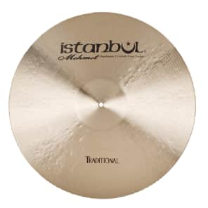 "Istanbul Mehmet 15"" Traditional Series Dark Crash Cymbal"