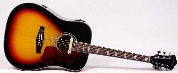 Ibanez SGE220-VS Sage Series Dreadnought Acoustic-Electric Guitar