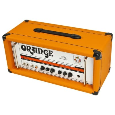 Orange TH30H 30-Watt Twin Channel Guitar Head, Orange Tolex