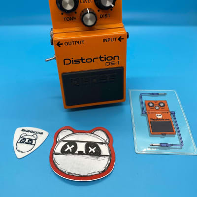 Boss DS-1 Distortion w/ Keeley Ultra & Seeing Eye Mod | Fast Shipping!