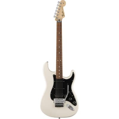 Fender Standard Stratocaster HSS Floyd Rose Pau Ferro Olympic White for sale