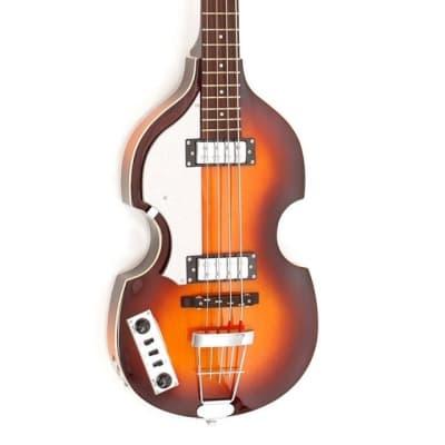 Hofner Ignition Violin Bass Sunburst Left Handed