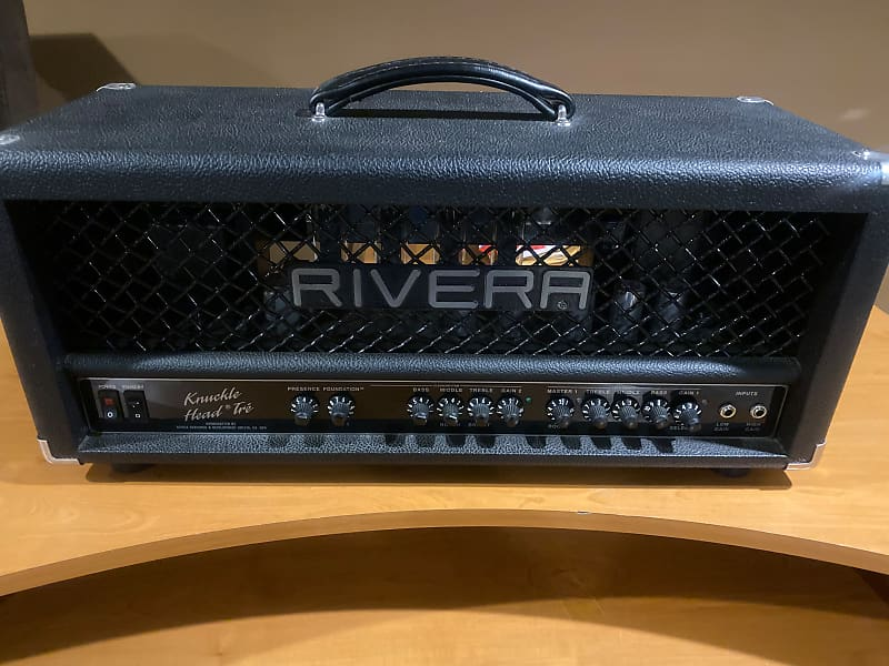 rivera knucklehead tre gas clearance outlet reverb. Black Bedroom Furniture Sets. Home Design Ideas