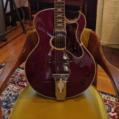 Penco E72 Howard Roberts Copy 1977 Wine Red for sale