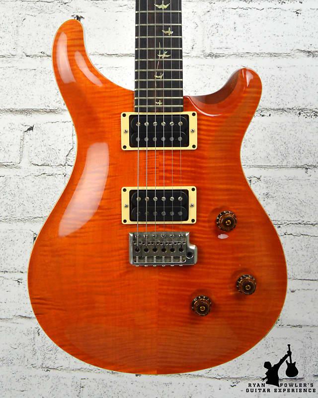 PRS 20th Anniversary Custom 24 Orange 10 Top w/ OHSC image