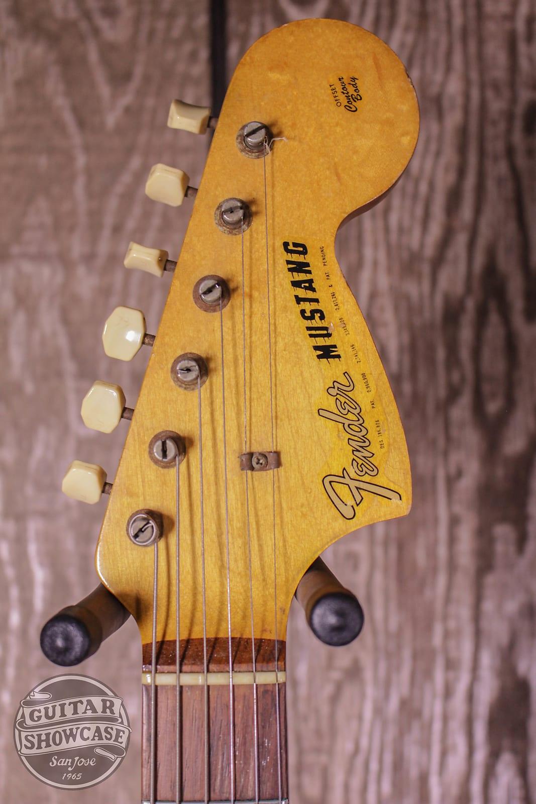 Fender Mustang Dakota Red 1965