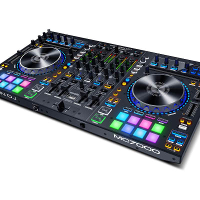 Denon MC7000 4-Channel DJ Controller with Serato and Dual Audio Interface