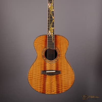 2002 Leach Cremona, Figured Koa/Giant Sequoia Redwood for sale