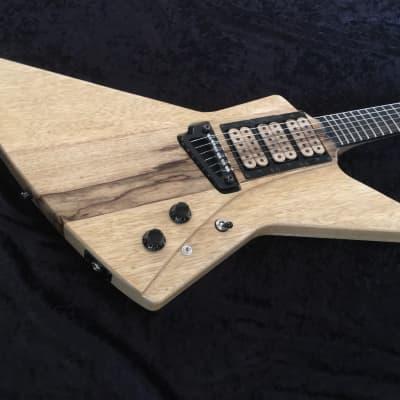 NOW $1750 BLOWOUT NAMM SALE!Explorer Custom Guitar Black Diamond Jericho Hand Crafted Prototype for sale