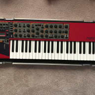Nord Lead 3  2006 Red/Black with Custom Brady Case