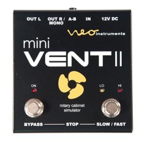 Neo Instruments Mini Ventilator II Rotary Speaker Cab Simulator Pedal