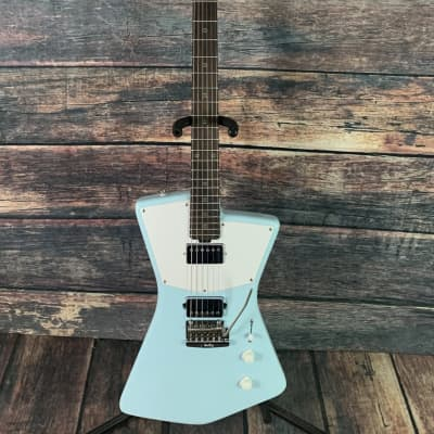 Sterling by Music Man St Vincent STV6HH - Daphne Blue for sale