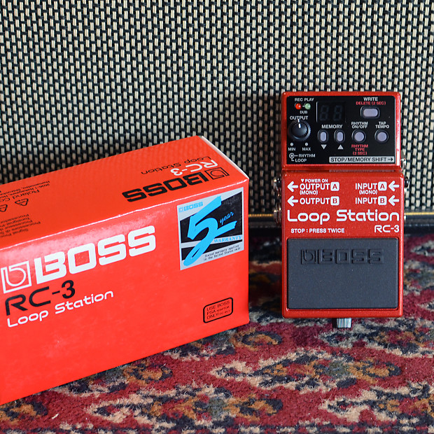 boss rc 3 loop station 2013 red main stage music reverb. Black Bedroom Furniture Sets. Home Design Ideas