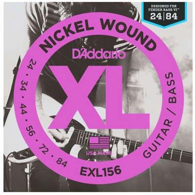 D'Addario EXL156 Bass VI Strings