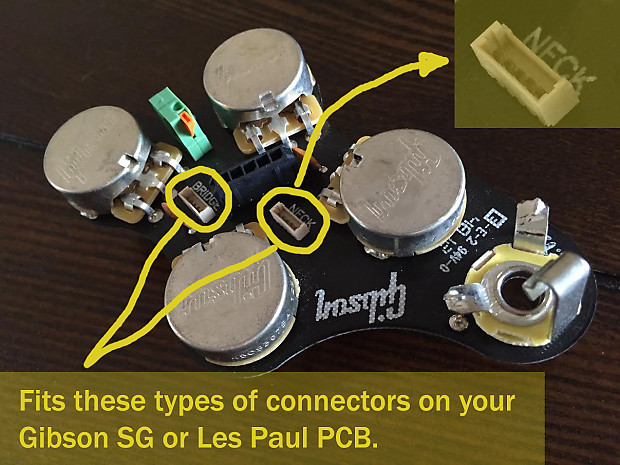 2 quick-connect adapters for Gibson, Seymour Duncan, | Reverb