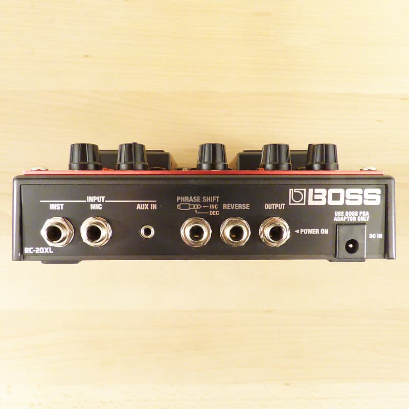 boss rc 20xl loop station twin pedal guitar or vocal looper reverb. Black Bedroom Furniture Sets. Home Design Ideas