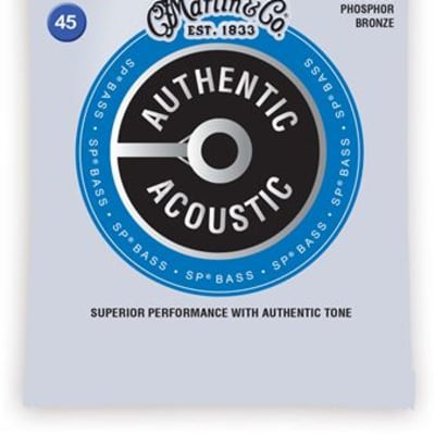 Martin MA4850 Authentic Acoustic Phosphor Bronze Acoustic Bass Strings