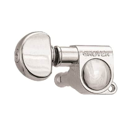Grover Mid-Size Rotomatics 3 Per Side Chrome Machine Heads GR305C for sale