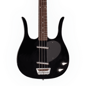 Danelectro Longhorn Bass Black New, Free Shipping, DLHBASS-BLK for sale